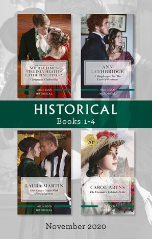 Historical Box Set 1-4 Nov 2020/Christmas Cinderellas/A Shopkeeper for the Earl of Westram/One Snowy Night With Lord Hauxton/The Viscount's Yu
