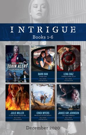 Intrigue Box Set 1-6 Dec 2020/Toxin Alert/Texas Law/Cowboy Under Fire/Crime Scene Cover-Up/Mountain of Evidence/The Last Resort