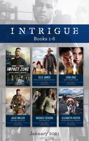 Intrigue Box Set Jan 2021/Impact Zone/Homicide at Whiskey Gulch/Agent Under Siege/Dead Man District/The Fugitive/Alaska Mountain Rescue