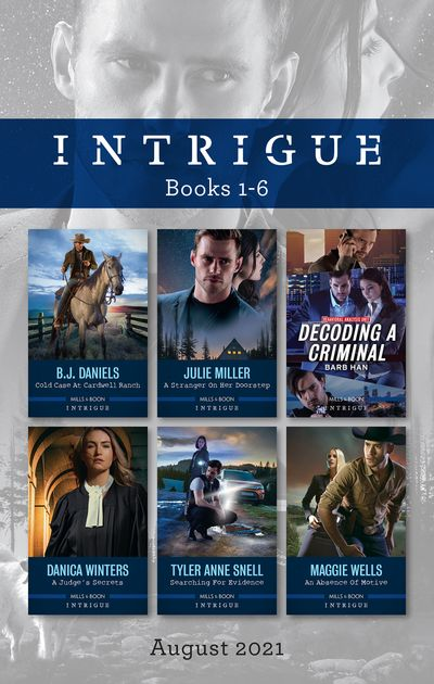 Intrigue Box Set Aug 2021/Cold Case at Cardwell Ranch/A Stranger on Her Doorstep/Decoding a Criminal/A Judge's Secrets/Searching for Evidence/A