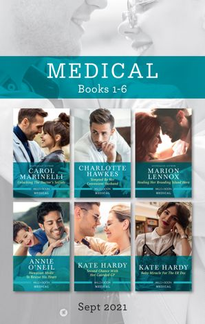 Medical Box Set Sept 2021/Unlocking the Doctor's Secrets/Tempted by Her Convenient Husband/Healing Her Brooding Island Hero/Hawaiian Medic to R
