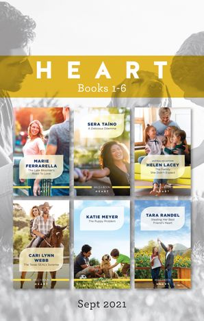 Heart Box Set Sept 2021/The Late Bloomer's Road to Love/A Delicious Dilemma/The Family She Didn't Expect/The Texas SEAL's Surprise/The Pupp
