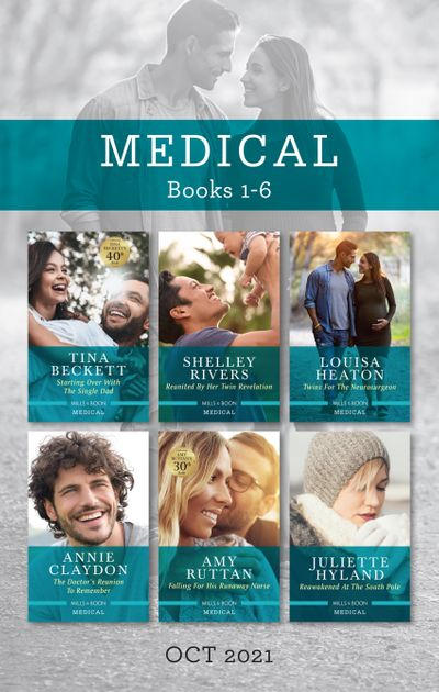Medical Box Set Oct 2021/Starting Over with the Single Dad/Reunited by Her Twin Revelation/Twins for the Neurosurgeon/The Doctor's Reunion to