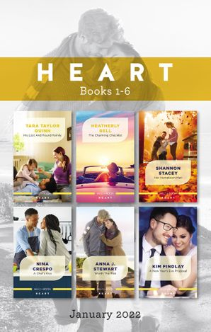 Heart Box Set Jan 2022/His Lost and Found Family/The Charming Checklist/Her Hometown Man/A Chef's Kiss/Worth the Risk/A New Year's Ev