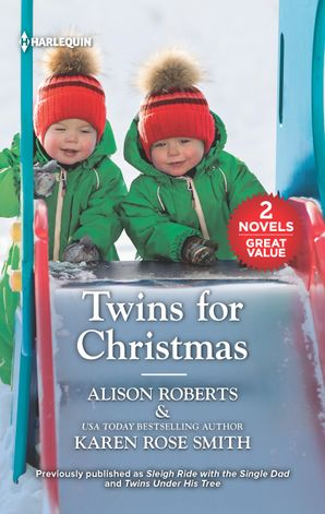 Twins For Christmas/Sleigh Ride with the Single Dad/Twins Under His