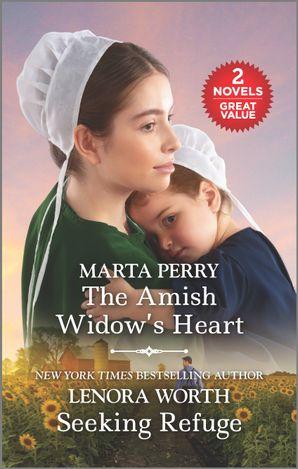 The Amish Widow's Heart/Seeking Refuge