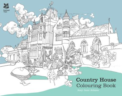 The Country House Colouring Book