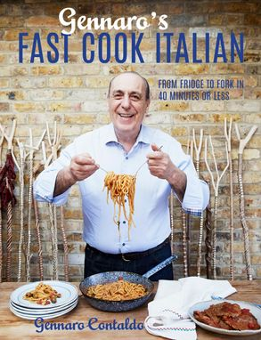Cover image - Gennaro's Fast Cook Italian: From Fridge To Fork In 40 Minutes Or Less