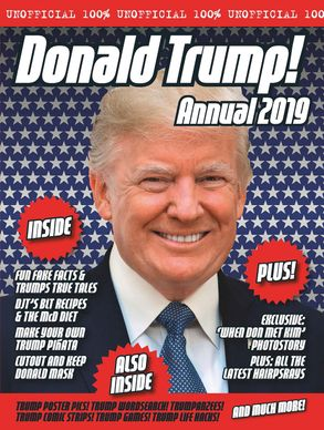 Cover image - The Unofficial Donald Trump Annual 2019