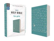 NIV, Holy Bible for Girls, Soft Touch Edition, Leathersoft, Teal, Comfort Print