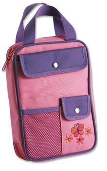 Girls Organizer Cover Pink Butterfly  Medium