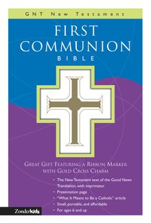 GNT, First Communion Bible: New Testament, Leathersoft, White