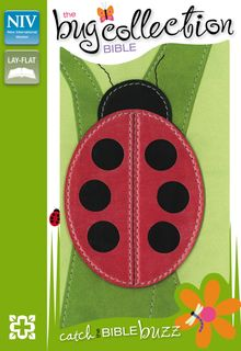NIV, The Bug Collection Bible: Ladybug, Leathersoft, Green/Red
