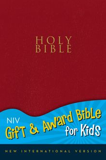 NIV, Gift and Award Bible for Kids, Leathersoft, Red, Red Letter