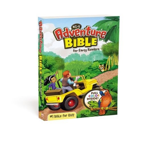 NIrV, Adventure Bible for Early Readers, Paperback, Full Color