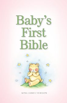 KJV, Baby's First Bible, Hardcover, Pink