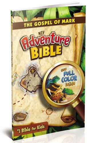 NIV, Adventure Bible: The Gospel of Mark, Paperback, Full Color