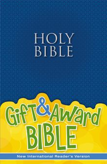 NIrV, Gift and Award Bible, Paperback, Blue