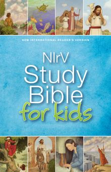 NIrV, Study Bible for Kids, Hardcover