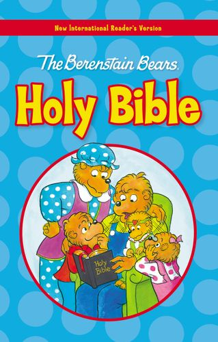NIrV, The Berenstain Bears Holy Bible, Large Print, Hardcover
