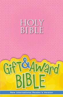NIrV, Gift and Award Bible, Paperback, Pink