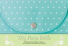 NIrV, My Purse Bible, Leathersoft, Teal