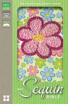 NIrV, Sequin Bible, Leathersoft, Multicolor