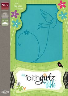 NKJV, Faithgirlz Bible, Leathersoft, Blue