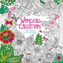 Wonders of Creation Coloring Book