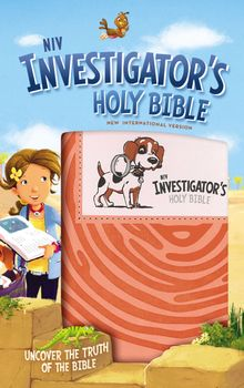 NIV, Investigator's Holy Bible, Leathersoft, Coral