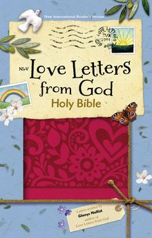 NIrV, Love Letters from God Holy Bible, Leathersoft, Magenta