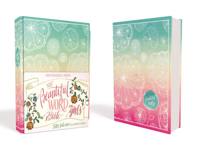 NIV Beautiful Word Bible for Girls, Hardcover, Floral