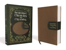 NIV Incredible Creatures and Creations Holy Bible, Leathersoft, Tan/Green