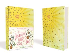 NIV Beautiful Word Bible for Girls, Hardcover, Sunburst