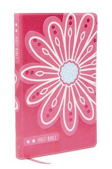 KJV Bible for Kids, Leathersoft, Pink