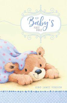 KJV, Baby's First Bible, Hardcover, Blue