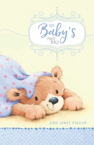 KJV, Baby's First Bible, Hardcover, Blue