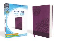NIV, Bible for Kids, Leathersoft, Purple, Red Letter Edition, Comfort Print