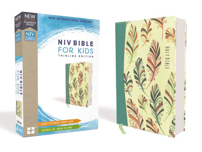 NIV, Bible for Kids, Flexcover, Teal, Red Letter Edition, Comfort Print