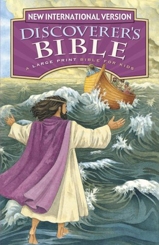 NIV, Discoverer's Bible, Large Print, Hardcover