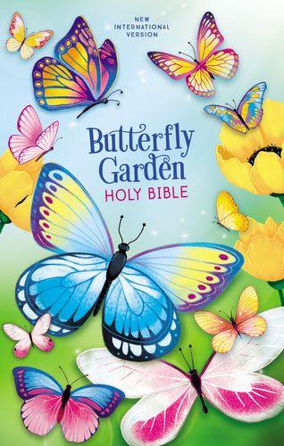 NIV, Butterfly Garden Holy Bible, Hardcover, Comfort Print
