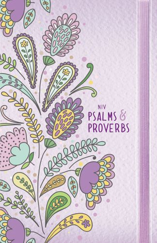 NIV, Psalms and Proverbs, Hardcover, Purple, Comfort Print