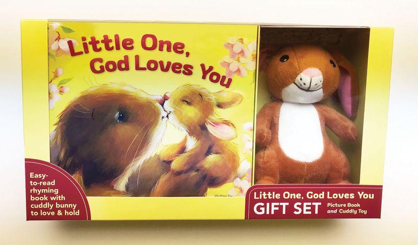 Little One, God Loves You Gift Set
