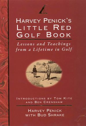 Little Red Golf Book Hardcover  by Harvey Penick