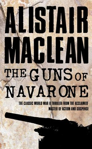 The Guns of Navarone Paperback  by