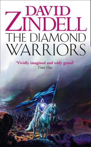The Diamond Warriors Paperback  by David Zindell