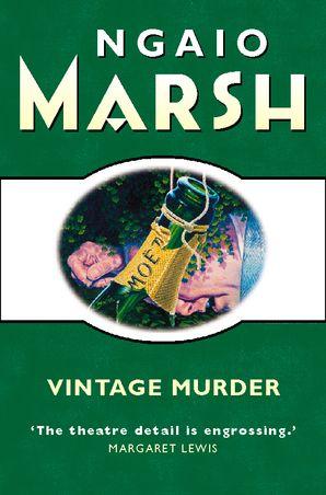Vintage Murder Paperback  by Ngaio Marsh