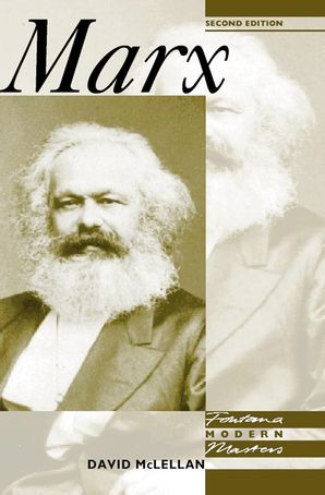 Marx Paperback  by David McLennan