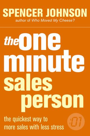 One Minute Manager Salesperson Paperback  by