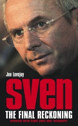 Sven-Goran Eriksson Paperback  by Joe Lovejoy